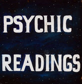 Psychic Reading — Stock Photo