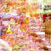 Resumen sobre lienzo — Foto de Stock
