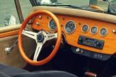 ビンテージ車のインテリア — ストック写真