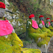 Stone statues in Japan — Stock Photo #69686827