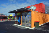 Scorpio Books Restart Container Shop Relocated — Stock Photo