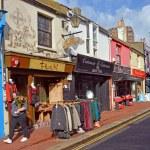 Постер, плакат: Shops in the famous Brighton North Laines District UK