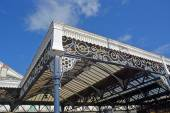 Detail of The Historic Brighton Railway Station, UK. — Stock Photo