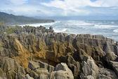 West Coast's Main Tourist Attraction - The Spectacular Punakaiki — Stock Photo