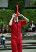 Johnathon Burns - World Buskers Festival — Stock Photo
