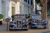 Citroen Traction 15 Familiale 1956 Cars in Hanoi — Stock Photo
