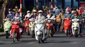 Motorcycle Madness in Saigon 3 — Stock Photo