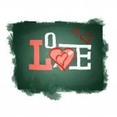Love inscription. — Stock Photo