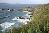 Carrick a Rede Island, Giants Causeway Coastal Footpath — Stock Photo