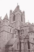 Christ Church Cathedral, Dublin, Ireland — Stock Photo