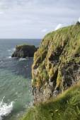 Carrick a Rede Island, Giants Causeway Coastal Footpath — Stock Photo