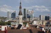 Cityscape, Tallinn — Stockfoto
