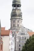 St Peters Lutheran Church, Riga — Stock Photo