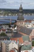 Cathedral and Cityscape, Riga — Stock Photo