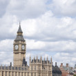 Big Ben and the Houses of Parliament with the River Thames, Lond — Stock Photo #68446995