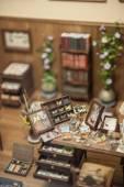 Handmade toy interior — Stockfoto