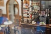 Handmade toy interior — Stock Photo