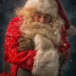 Santa Claus is feeling very cold — Stock Photo #53331605