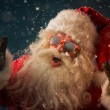 Santa Claus wearing sunglasses — Stock Photo #53331623