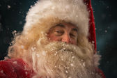 Santa Claus looking at camera — Stock Photo
