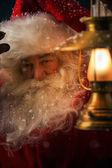 Santa Claus outdoors — Stock Photo
