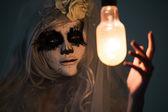 万圣节女巫 — 图库照片