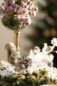 Christmas decorative  interior — Photo
