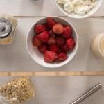 Healthy breakfast ingredients — Stock Photo #63829527