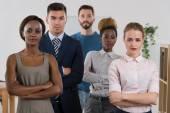 Verksamhet team i office — Stockfoto