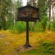 Bird house in the middle of the finnish forest in Seurasaari, Helsinki, Finland — Stock Photo #77227096