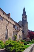 Beautiful building in a village in Rhone Alpes region, Bugey — Stock Photo