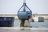 Harbor Dredging  — Stock Photo
