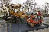 Road Construction and renewal — Stock Photo