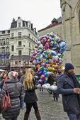 Christmas Market in Brussels, Winter Wonders. — Zdjęcie stockowe