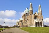 National Basilica of Sacred Heart In Koekelberg, Brussels, Belgi — Стоковое фото