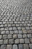 Cobbled road — Stockfoto