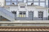 The Etterbeek station in the Brussels-Capital Region — Stock Photo