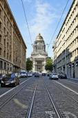 The Court of Laws of Brussels, Belgium — Stock Photo