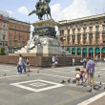 The monument to king Vittorio Emanuele II. — Stock Photo #75455485