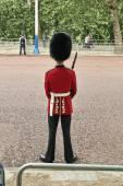 Troop Guard near Buckingham Palace — Stock Photo