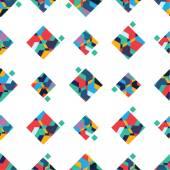 Geometriskt mönster — Stockvektor