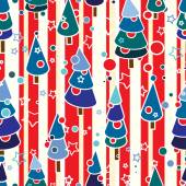 Red-white-blue holiday pattern — Stock Vector