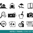 Hotel and Travel — Stock Vector #63431263
