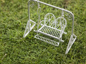 Mini swing on the grass — Foto de Stock