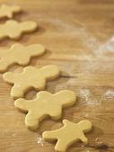 Plain gingerbread man — Stock Photo