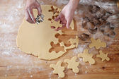 Cookies cutter forms — Stock Photo