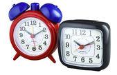 Two alarm clocks — Stock Photo
