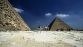 View of the Pyramids — Stock Photo