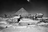 Cairo, Micherino Pyramid — Stock Photo
