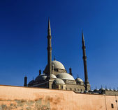 Cairo, Salah Al-Din Citadel — Stock Photo